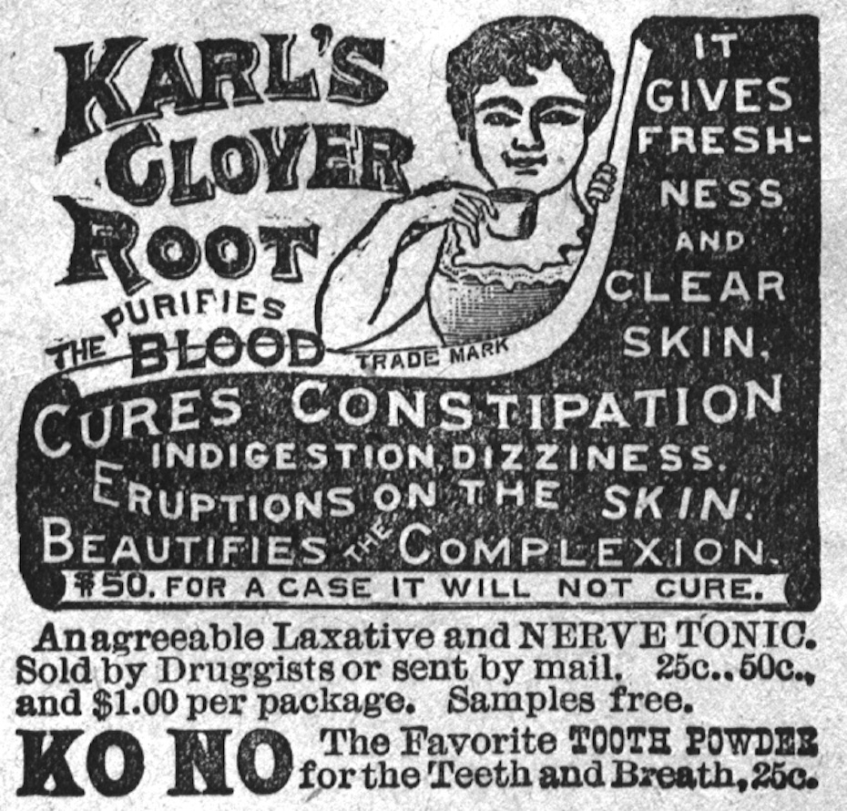 Karl's Clover Root